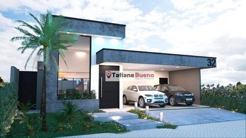 Imagem 1 de 5 de Casa Com 3 Dormitórios À Venda, 167 M² Por R$ 795.000 - Jardim Santa Teresa - Taubaté/sp - Ca2493
