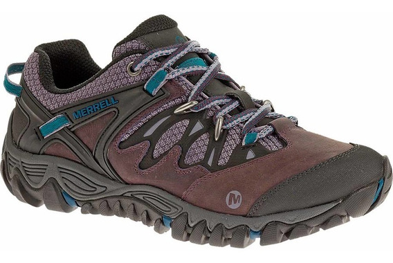 Tenis Dama Allout Blaze Merrell Mujer Camping Deportivos