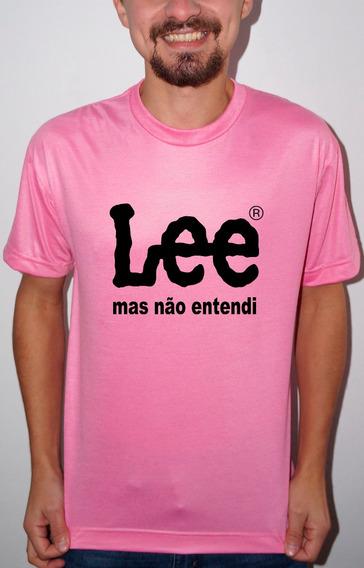Camiseta Ou Baby Look Lee