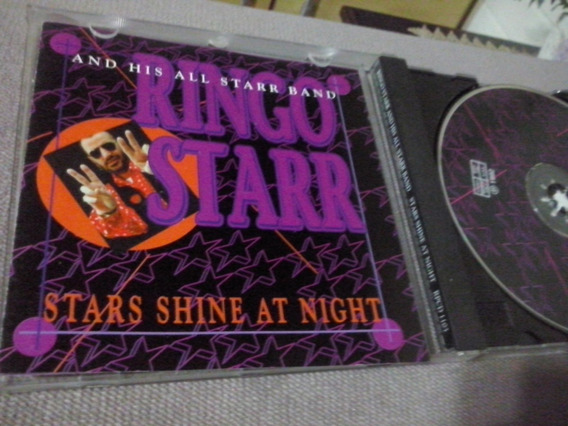 Cd Ringo Starr - The Beatles - Live 1992 Star Shine At Night