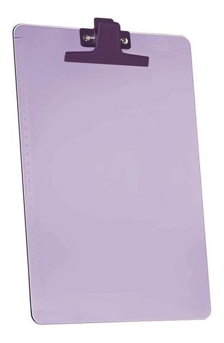 Imagem 1 de 1 de Prancheta Acrimet 151.7   Premium Prend Met Oficio Lilas