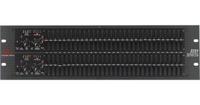 Equalizador Dbx 2231v Stéreo 31 Bandas 2 Canais (110v)