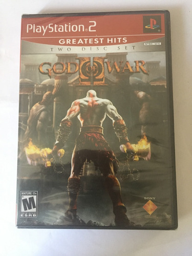 God Of War 2 Original Lacrado