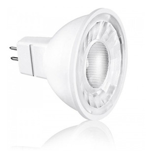 Dicroica Led Mr16 12 Volts 7 Watts Blanco Cálido 540 Lúmenes
