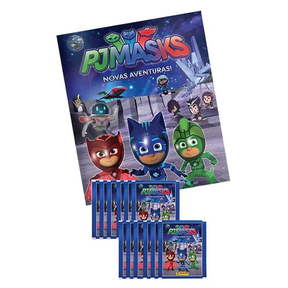 Conjunto Com 1 Álbum Brochura + 12 Envelopes De Figurinhas -