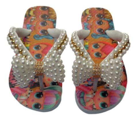 Chinelo Personalizado Top Da Lol Colors Infantil Menina.