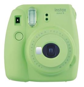 Instax Mini 9 - Verde - Com Pack De 10 Fotos + Porta Retrato