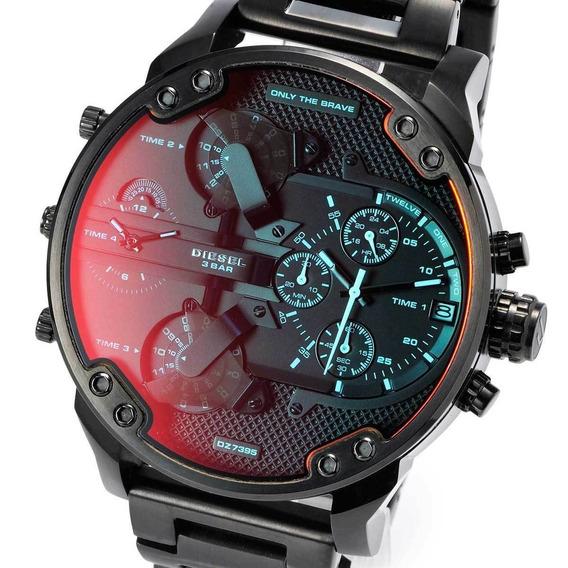 Reloj Diesel Dz7395 Mr Daddy Gunmetal + Envio Gratis