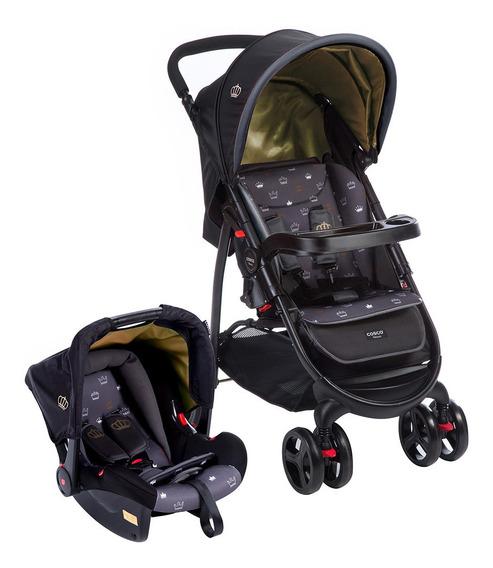 Carrinho Com Bebê Conforto Usado Nexus System Cosco