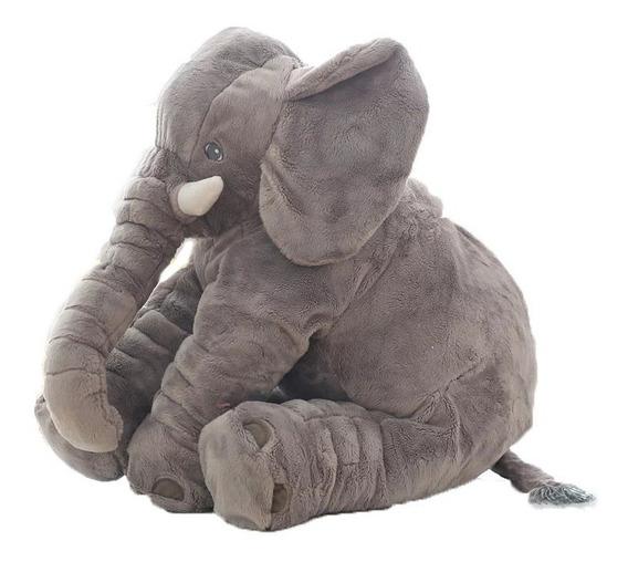 Elefante De Plush 70 Cm Almofada Anti-alérgico Bebê Dormir