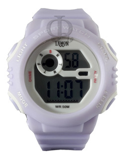 Reloj Niño Digital Luz Alarma Crono Lemon Dl221