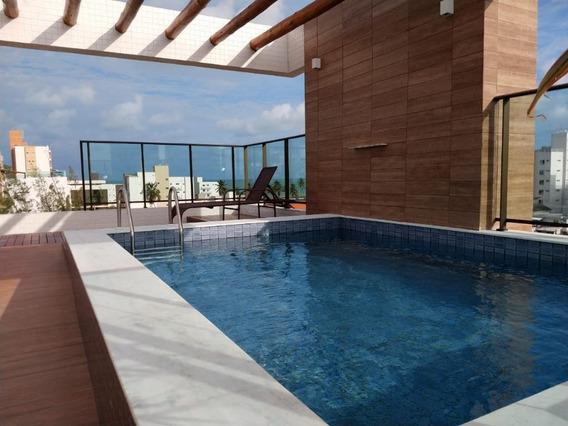 Apartamento Em Intermares, Cabedelo/pb De 57m² 2 Quartos À Venda Por R$ 257.196,00 - Ap211244