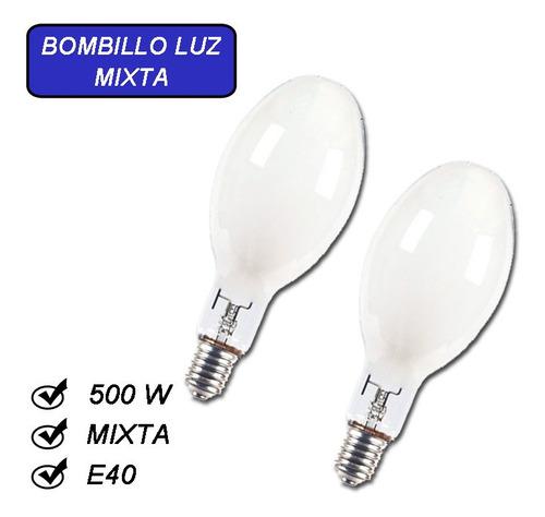 Bombillo Luz Mixta E40 500w 220v