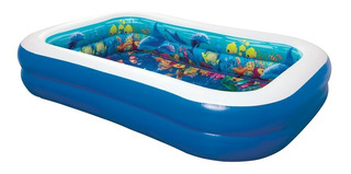 Piscina Inflable Bestway Aventura Submarina 3d - 2.62mx1.75m