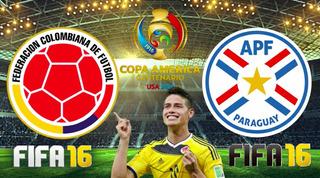 Boletas (2) Partido Colombia Vs Paraguay $700.000
