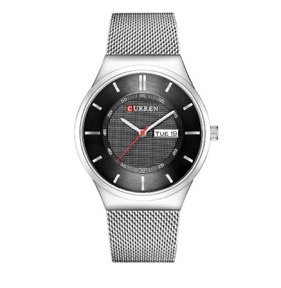 Relógio Quartzo Masculino Modelo Social Marca Curren