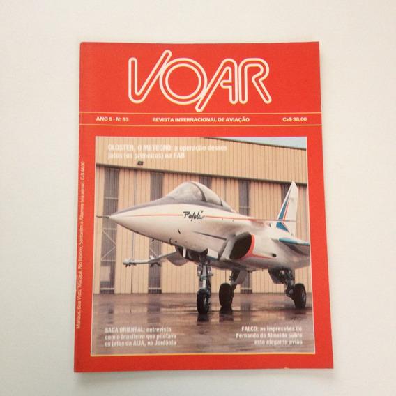 Revista Internacional De Aviação Voar Gloster O Meteoro N°53