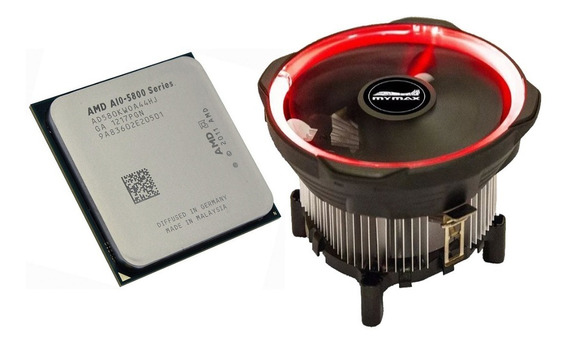 Processador Amd A10-5800k Black 4.2 Ghz(turbo) Com Cooler