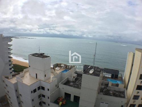 Novinho: 3 Quartos Na Quadra Do Mar Da Praia Da Costa! Costa - Vila Velha/es - Ap0220