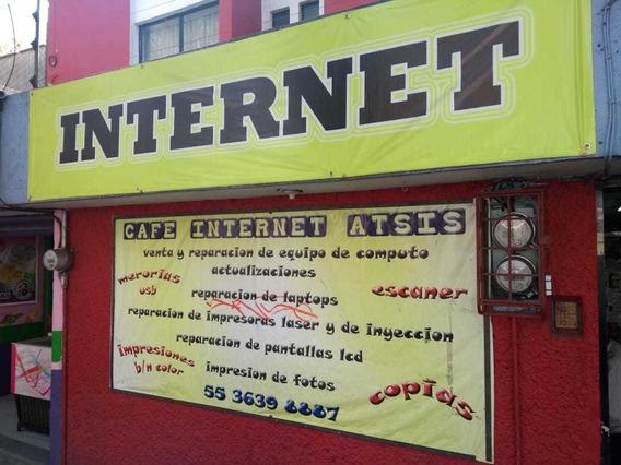 Traspaso Negocio De Cafe Internet , Con Oficinas