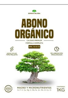 Abono Bonsai 7.5-5-7.5. Peletizado 5 Kg