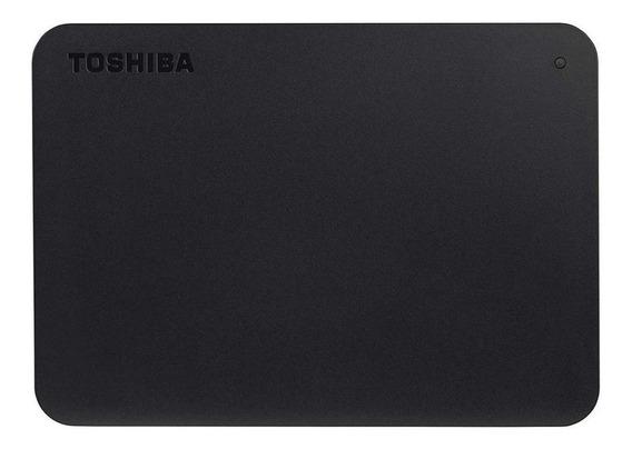 Disco rígido externo Toshiba Canvio Basics HDTB440XK3CA 4TB preto