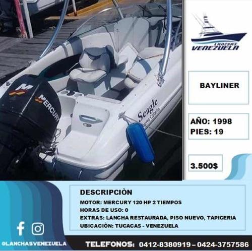 Lancha Bayliner 19 Lv220