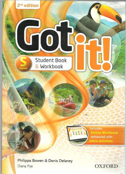 Got It! Starter Students Book & Workbook 2nd Edition