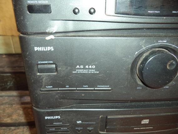 Som Antigo Philips As 440 Para Retirar Peças
