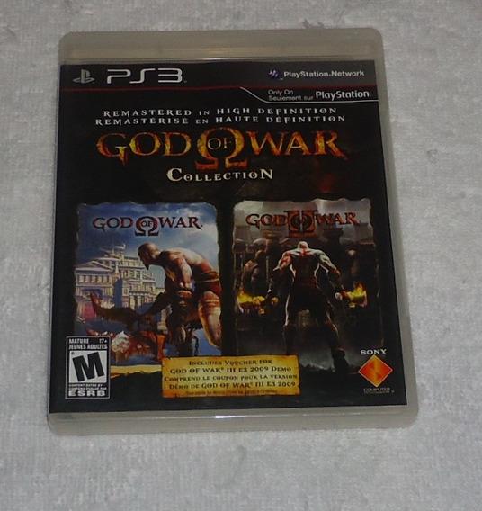 God Of War Collection Ps3 * Frete Gratis Leia