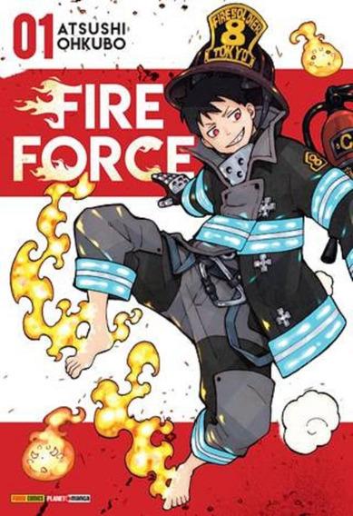 Mangá Fire Force 1, 2 E 3 - Novos - Frete Incluso