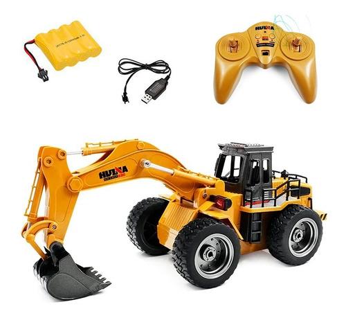 Trator Escavadeira Controle 1530 1:18 2.4ghz 6ch Huina Toys