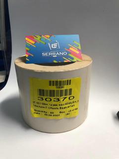 Etiqueta Para Impresión Térmica 102x102mm 500 Etiquetas