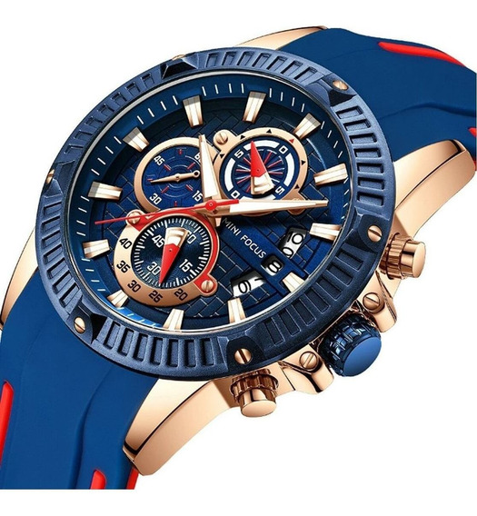 Relógio Original Minifocus Modelo Mf0244g