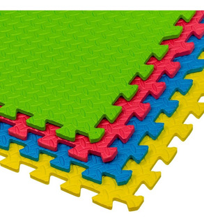 Tapete Piso Foamy De Colores 8 Pzas 60x60*1cm