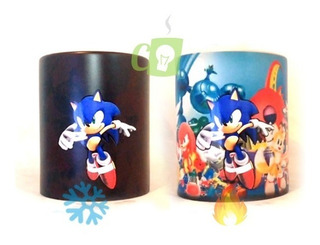 Tazón Sonic, Tazon Mágico, Tazon Gamer, Sonic