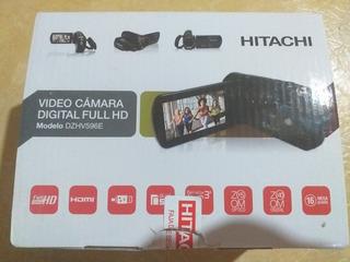 Caja Hitachi Mod. Dzhv596e + Cable Audio Y Video Hdmi Manual