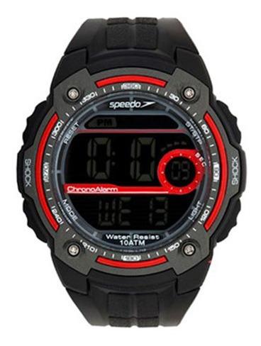 Relógio Speedo Digital Masculino 80581g0evnp1 Preto | Novo