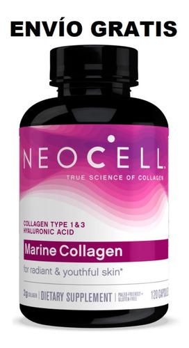 Colágeno Marino / Neocell 120 Tabletas / Americano