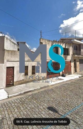 Terreno À Venda, 222 M² Por R$ 300.000,00 - Vila Avignon - Mogi Das Cruzes/sp - Te0069