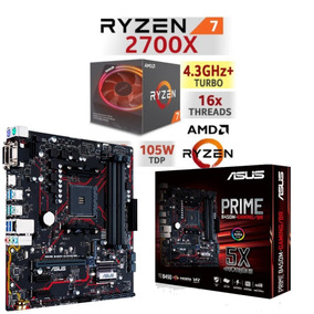 Kit Amd Ryzen 7 2700x + B450m Gaming Asus