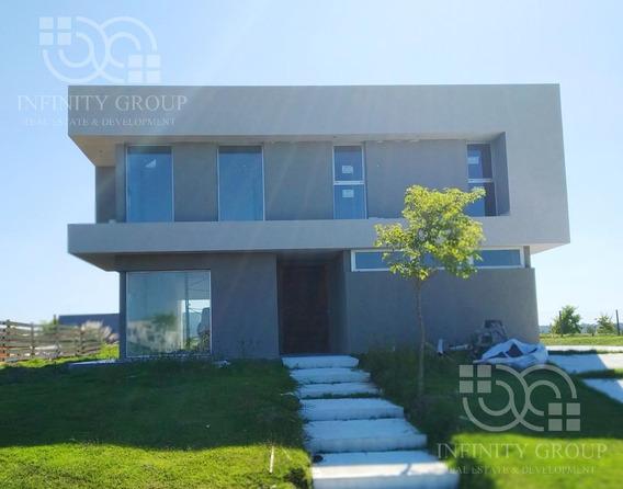 Excelente Casa En Barrio Ceibos Puertos Del Lago Escobar