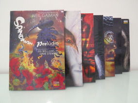 Sandman Edição Definitiva Vols. 1 Ao 5 + Morte + Prelúdio