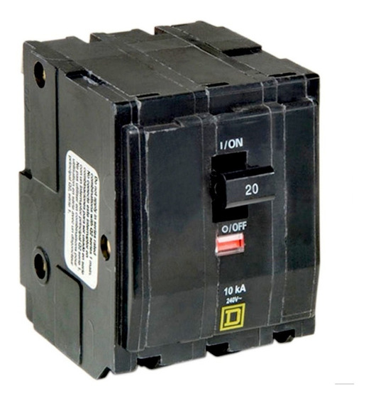 Interruptor Termomagnetico Qo 3x20 Square D
