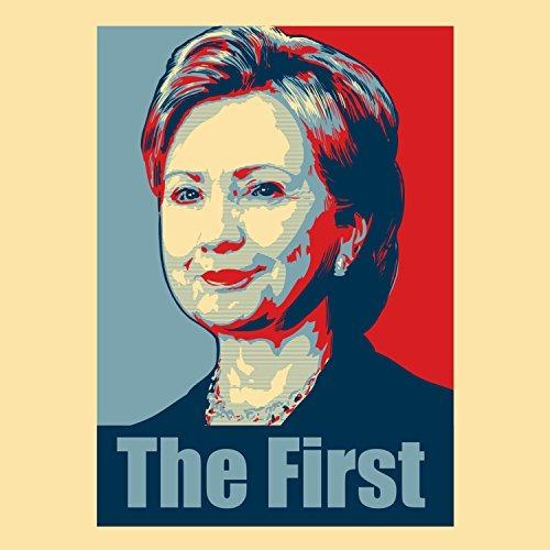 Hillary Clinton La Primera Politico Cartel Estilo Diseno R V