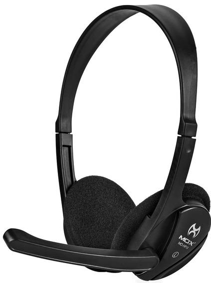 Fone De Ouvido Com Microfone Profissional Mox Mo-hp10