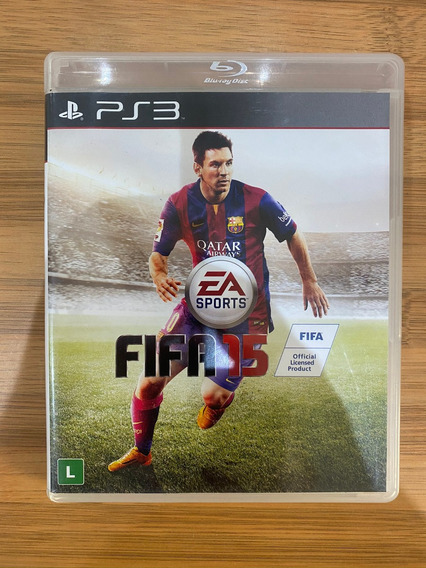 Jogo Fifa 15 Ps3 Playstation 3 Semi Novo
