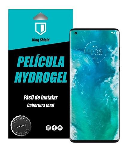 Película Motorola Edge Plus Kingshield Hydrogel (tela/verso)