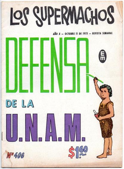 Los Supermachos No. 406- Año 10 - Oct - 1973 - Meridiano