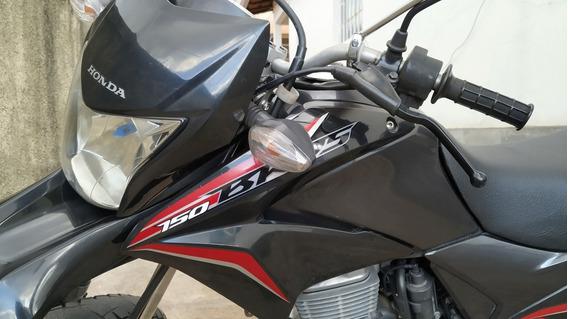 Honda Nxr Bros 150 Flex Esd 2013 - Motor Zero Só Trocar Pneu
